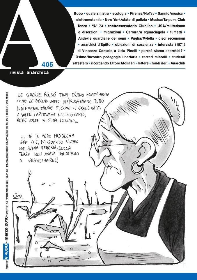 A - Rivista Anarchica n.405