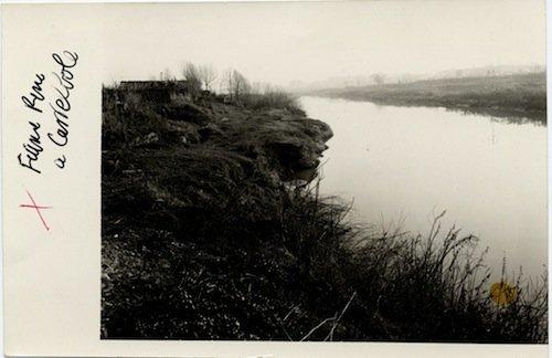Il fiume Reno a Casteldebole