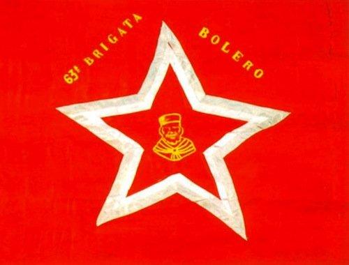 Bandiera della 63a Brigata Bolero
