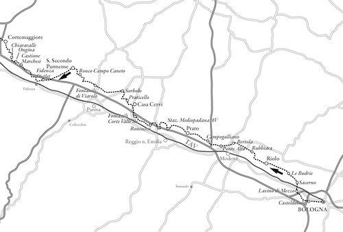 Mappa Sentiero Luminoso - 1