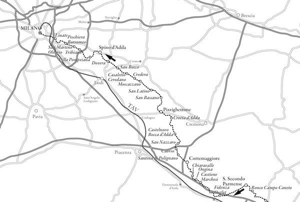 Mappa Sentiero Luminoso - 2
