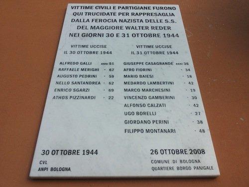 Lapide per i Caduti di Casteldebole