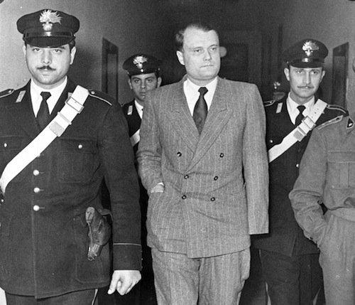 Walter Reder durante il processo
