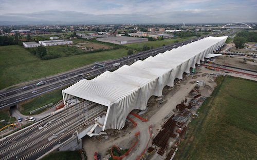 Il bruco di Calatrava