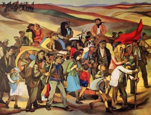 Renato Guttuso - L'occupazione delle terre