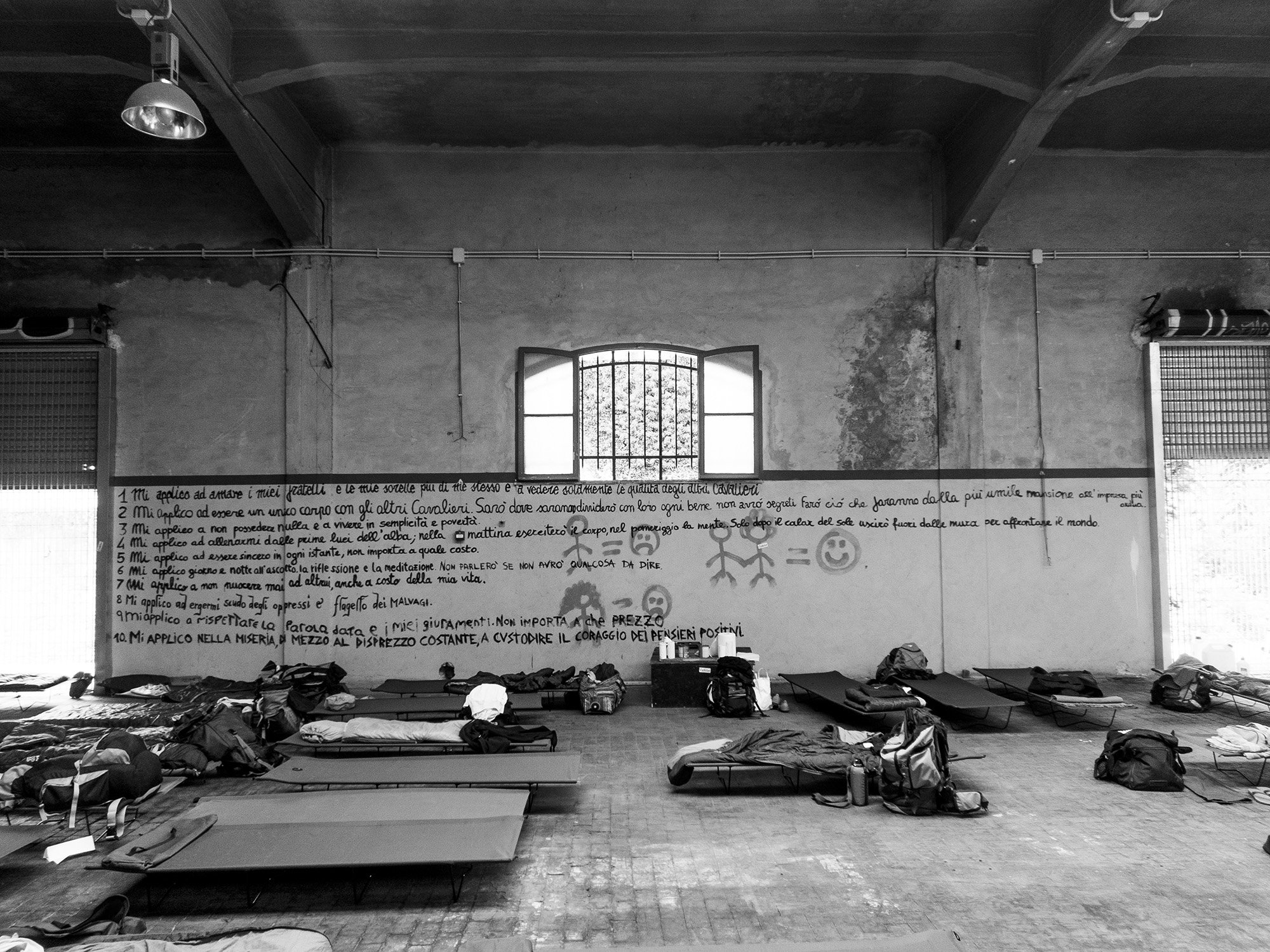 La Leggenda di Parsifal - Il dormitorio dei Cavalieri. Foto: A. Buccella