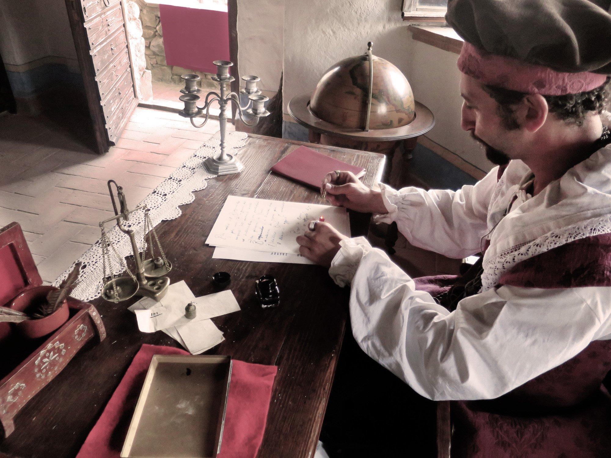6 3 0 - Il borgomastro Astolfi nel suo studio - Foto: D. Bergonzi