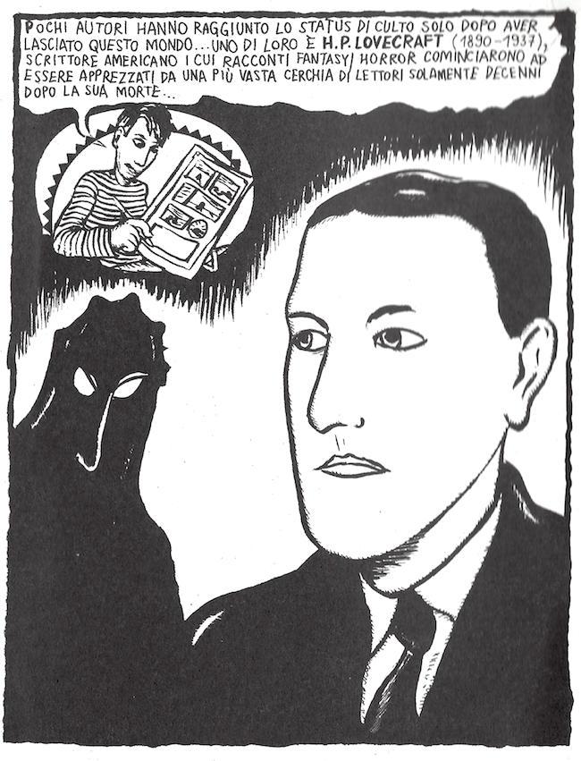 La prima tavola di Lovecraft nel Polesine di Aleksandar Zograf