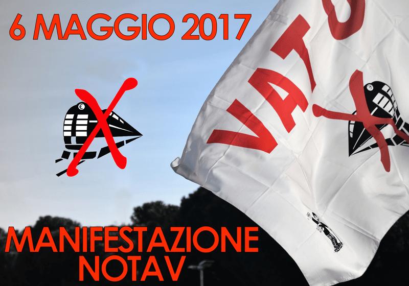 Manifestazione nazionale No Tav, 6 maggio 2017