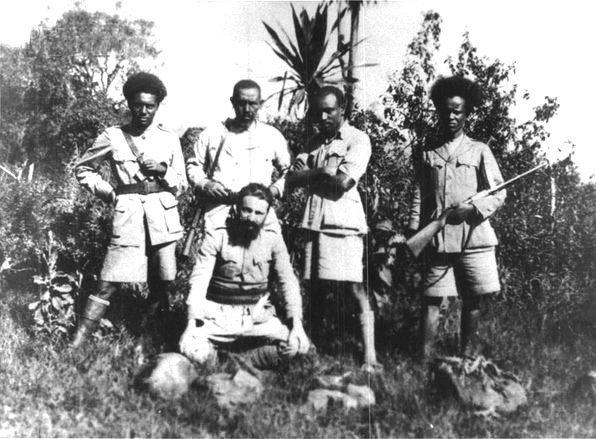 Ilio Barontini in Etiopia