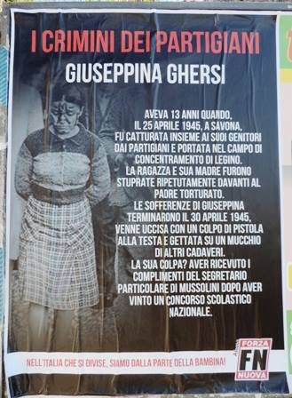 Non è Giuseppina Ghersi