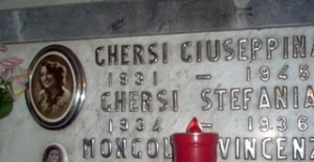 La tomba di Giuseppina Ghersi