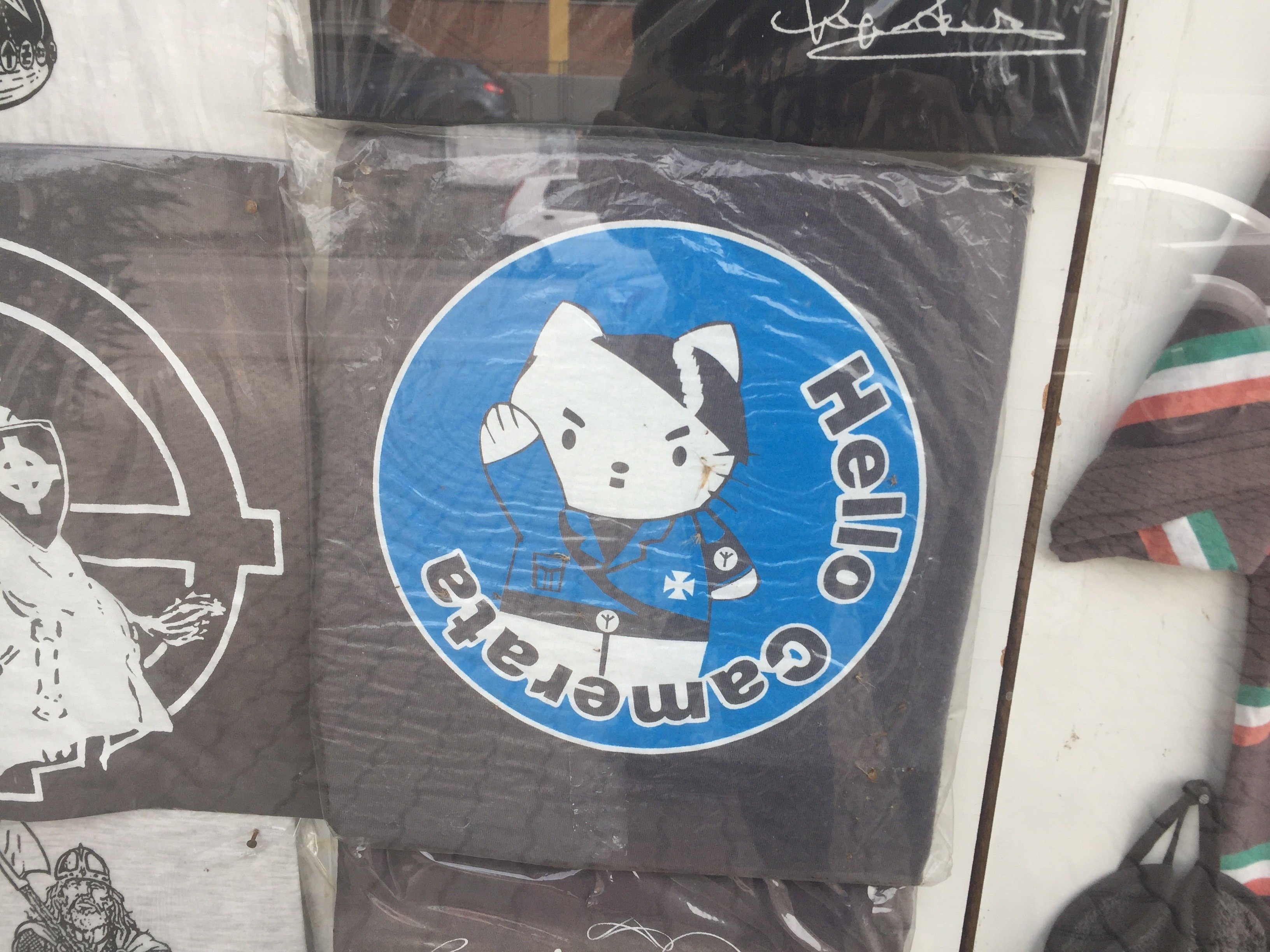 Hello Nazi Kitty in Predappio