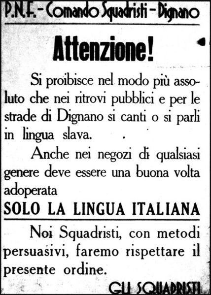 Italianizzazione