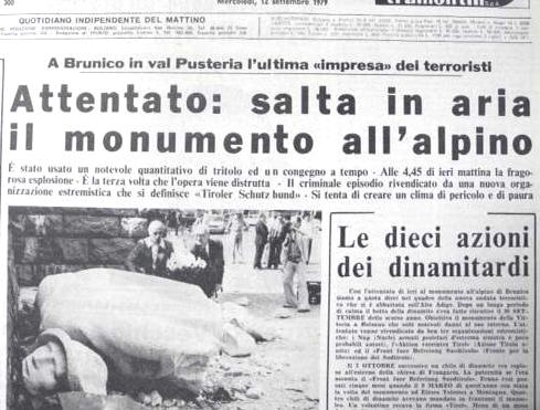 L'attentato all'Alpino del 1979