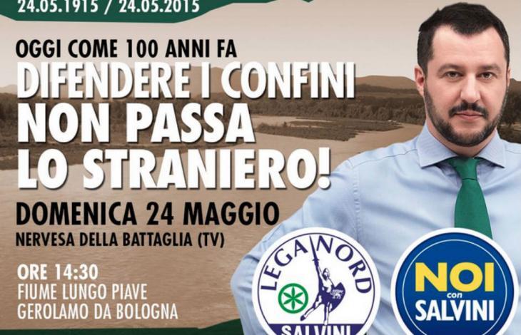 Salvini sul Piave