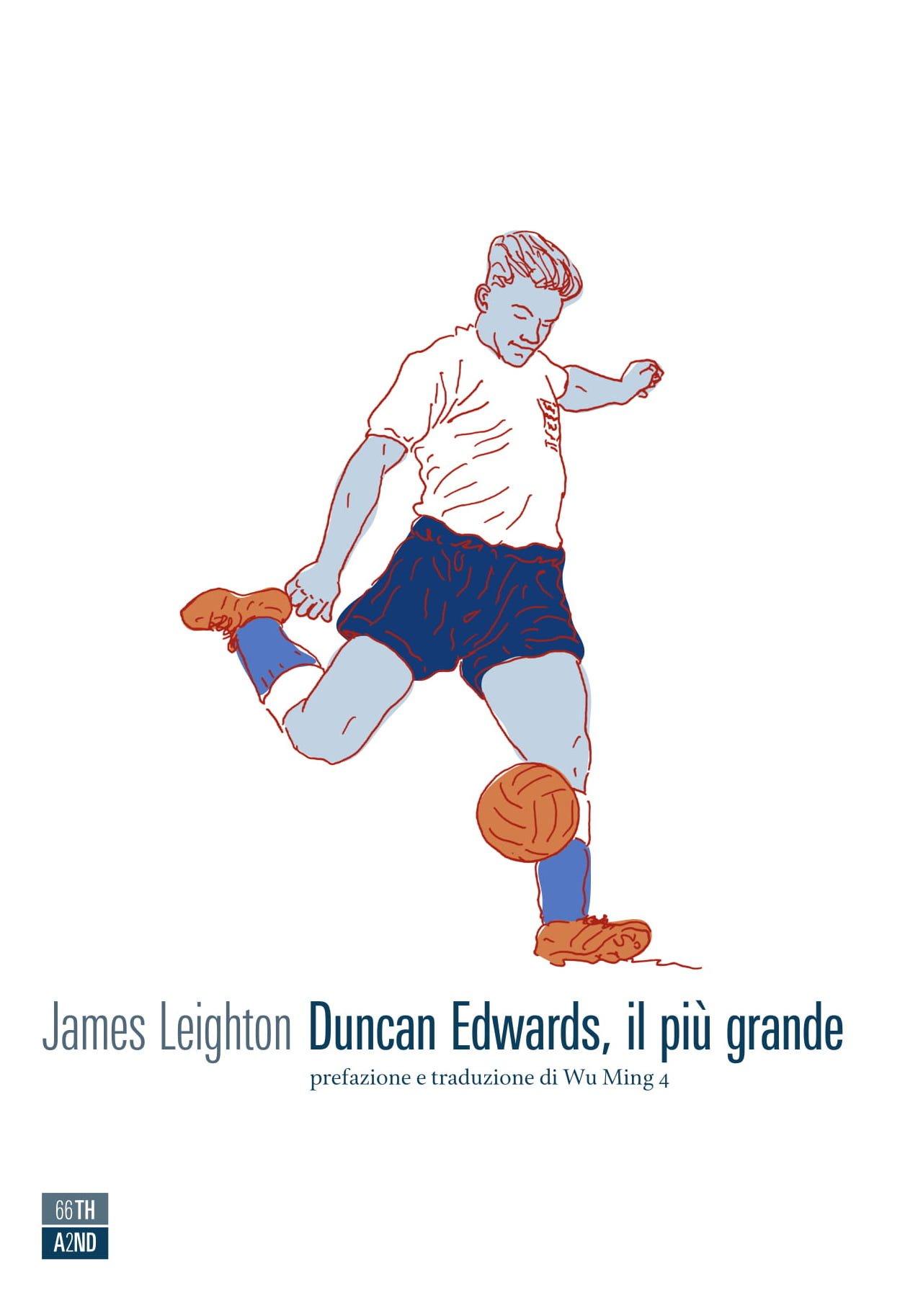 Copertina di Duncan Edwards, il più grande