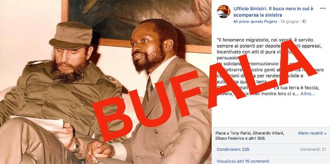 Samora Machel immigrazione falsificazione