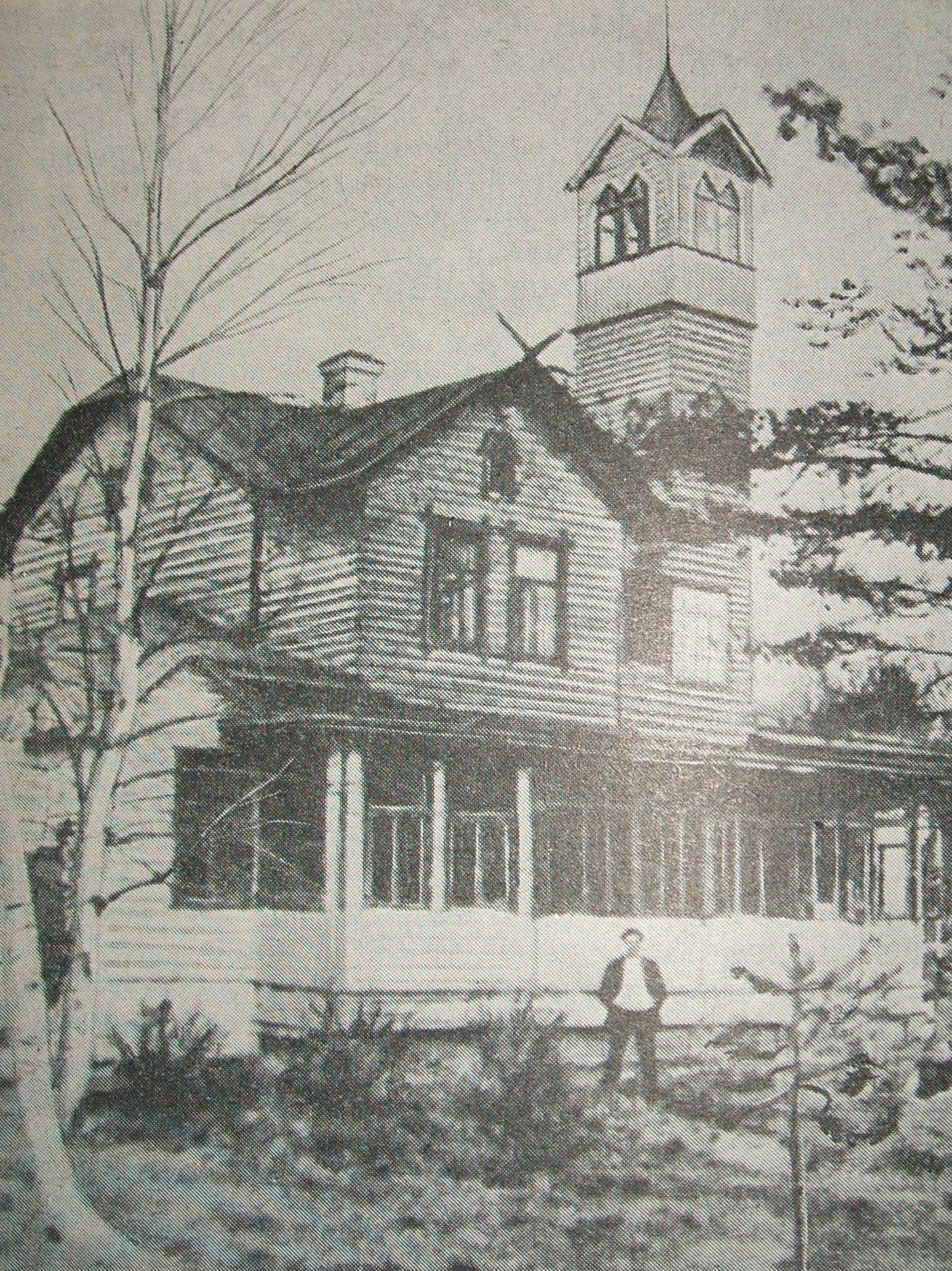 Una delle ambientazioni di Proletkult: Villa Vasa a Kuokkala, oggi Repino (Russia). Qui Lenin e Bogdanov trascorsero l'estate 1907.