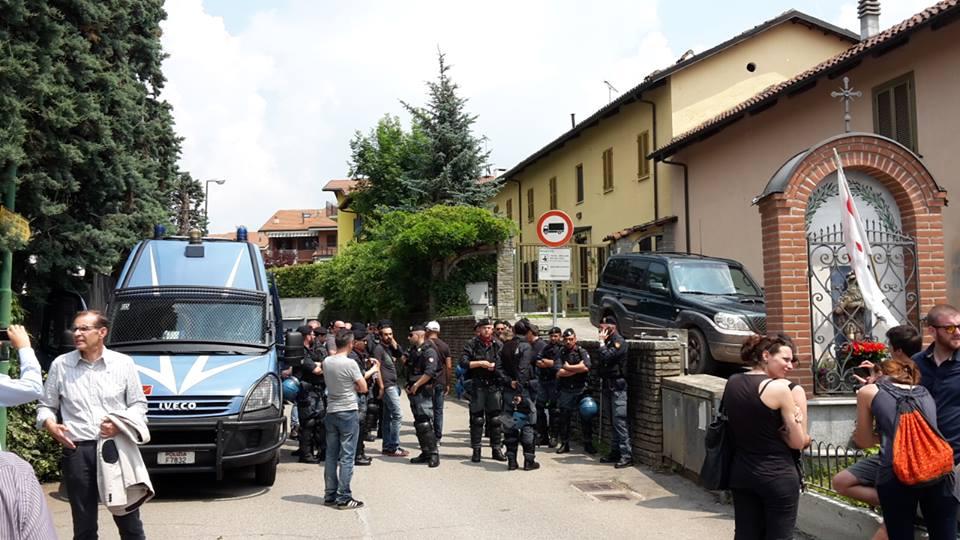 Via San Vittore, Rivalta, 7 giugno 2016, ore 12.