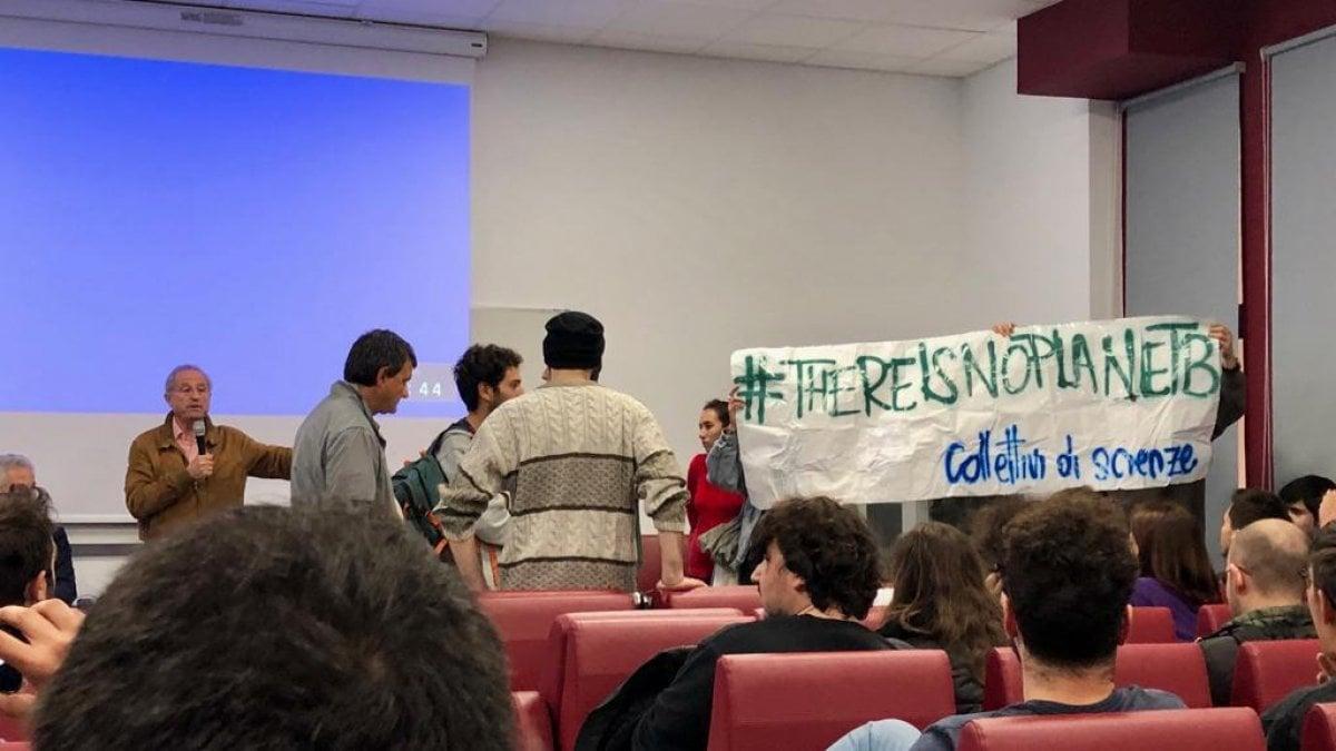 La contestazione degli studenti.