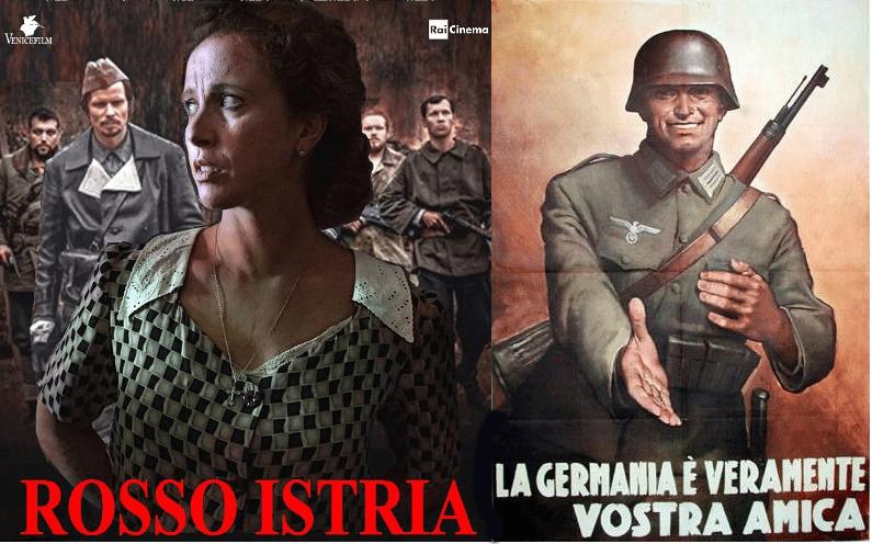 Col pretesto di Norma Cossetto e delle foibe, <em>Rosso Istria</em> è il primo film italiano successivo al 1942 in cui le truppe naziste arrivano a salvare la situazione e a fare giustizia.