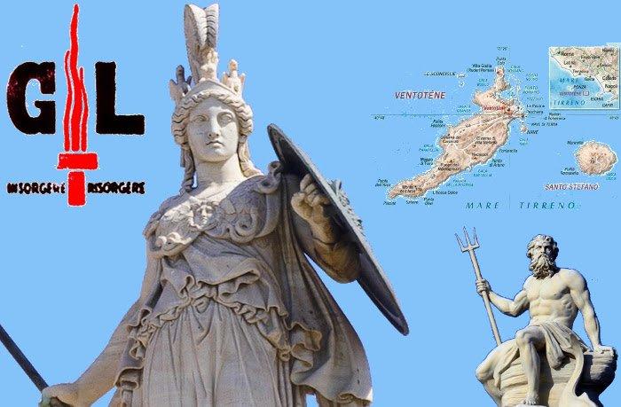 Atena e Poseidone al largo di Ventotene, da La Macchina del vento