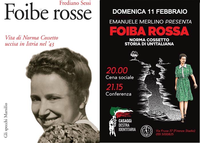 Due operazioni editoriali su Norma Cossetto