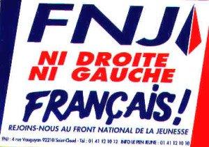 Ni droite, ni gauche, manifesto del FN francese