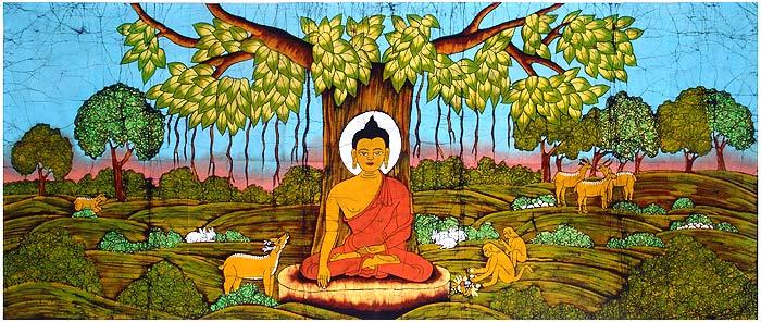 Buddha sotto il fico