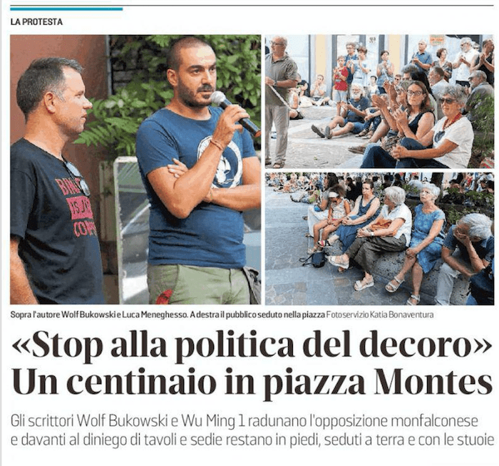La guerra del decoro a Monfalcone