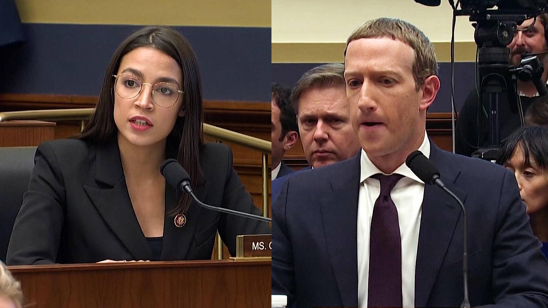 Ocasio-Cortez cuoce Zuckerberg sulla griglia