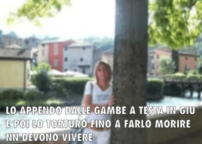 Fotogramma dal video di Gipi e Santamaria.