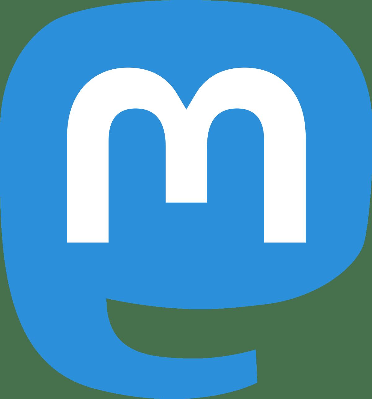 Logo di Mastodon