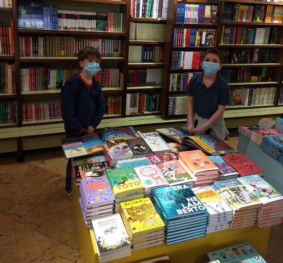 Libreria Trieste Enzo Mari dal dirupo di sabbiuno, 25 aprile 2020. come e per cosa