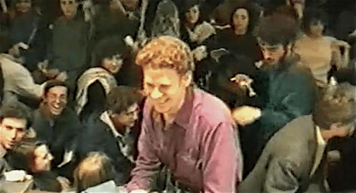 Gennaio 1990, Simone Ramilli a Scienze Politiche occupata.