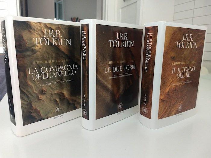 Il Signore degli Anelli in tre volumi