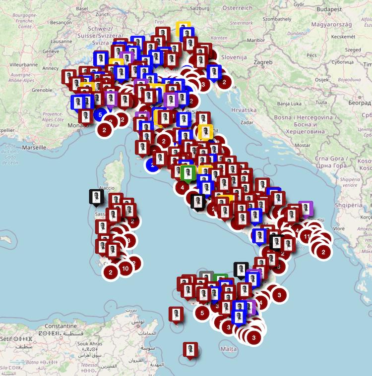 Cartina D Italia 1940.Yekatit 12 Febbraio 19 Zerai Deres Una Mappa E Una Data Per Agire La Memoria Giap