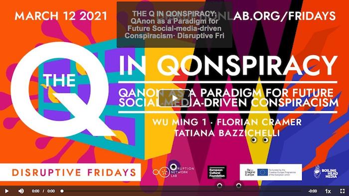 La Q di Qomplotto - Disruptive Fridays