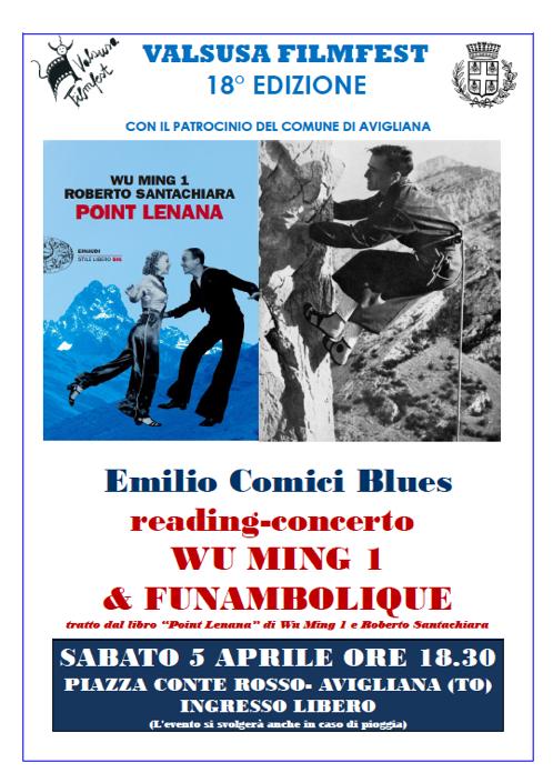 Locandina Emilio Comici Blues