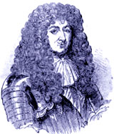 Louis XIV. Under the wig, the worms.