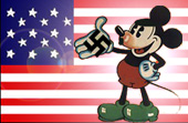 Mickey Mouse is a nazi